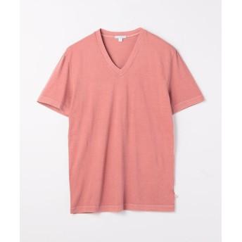 トゥモローランド コットン VネックTシャツ MLJ3352 メンズ 34ピンク 2(L) 【TOMORROWLAND】