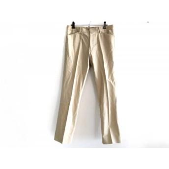 【中古】 トゥモローランド TOMORROWLAND パンツ サイズ46 XL メンズ 美品 ベージュ