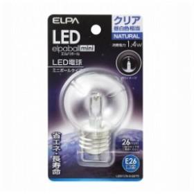 LED電球G50形E26 LDG1CN-G-G275 エルパ ELPA 朝日電器