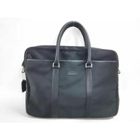【中古】 コーチ COACH ビジネスバッグ - 5102 黒 ナイロン レザー