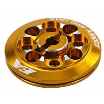 売れてます!イーグル模型 SP軽量ギアアダプター・ホルダー付[ゴールド] XV01-08-GO