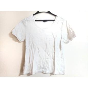 【中古】 ニジュウサンク 23区 半袖Tシャツ サイズ44 L レディース 白 Vingt-trois arrondissements