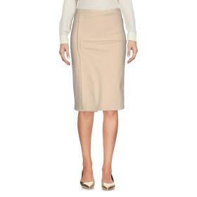 《セール開催中》SEMIS-PARIS レディース ひざ丈スカート ベージュ 36 コットン 59% / ウール 41%