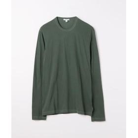 トゥモローランド クルーネック長袖Tシャツ MLJ3351 メンズ 57カーキ 2(L) 【TOMORROWLAND】