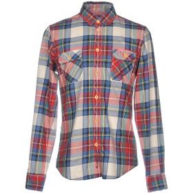 《セール開催中》BEN SHERMAN メンズ シャツ ブルー M コットン 100%