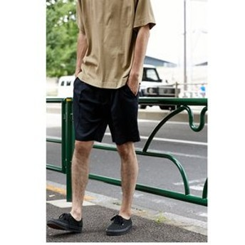 【AZUL by moussy:パンツ】【MEN'S】Front Tuck Shorts
