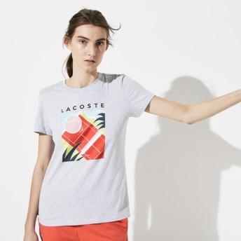 コートプリントテニスTシャツ