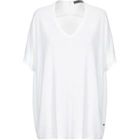 《期間限定セール開催中!》KAI AAKMANN レディース T シャツ ホワイト M レーヨン 100% / ポリエステル