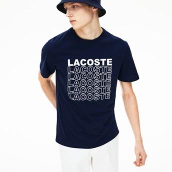 『WEB限定』 ミニマルネームプリントクルーネックTシャツ