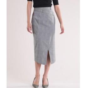 INED / イネド 《Luftrobe》フロントアシンメトリーストレートスカート