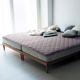【大きめサイズ】綿100%の涼感リバーシブル敷きパッド