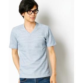 [マルイ]【セール】スラブサーフニットVネックTシャツ/メンズメルローズ(MEN'S MELROSE)