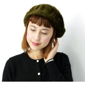 ベレー 帽子 レディース 秋冬 ベレー帽 無地 シンプルアンゴラ レディス ゆったり ふわふわ あ