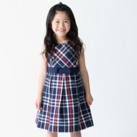コムサフィユ(COMME CA FILLE)/〔140cm~〕コットンドビーチェック ドレス