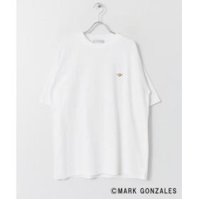 【51%OFF】 センスオブプレイス マークゴンザレスワッペンTシャツ(5分袖) メンズ WHITE XL 【SENSE OF PLACE】 【セール開催中】