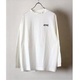 [マルイ] メンズTシャツ(【PULP】ATIVE / エイティブ LOGO MOCK LS TEE)/417エディフィス(417 EDIFICE)