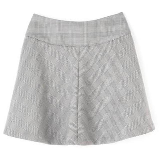 PROPORTION BODY DRESSING / プロポーションボディドレッシング  ストライプチェックボンディングスカート
