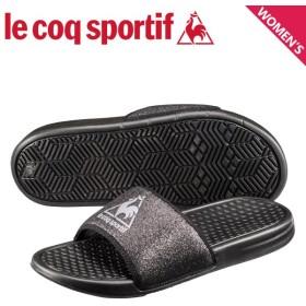 ルコック スポルティフ le coq sportif サンダル シャワーサンダル ナプール レディース NAPOULE W ブラック 黒 QL3NJE33BK