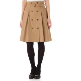 NATURAL BEAUTY BASIC / ナチュラルビューティーベーシック ベルト付スカート
