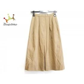 バーバリーズ Burberry's スカート サイズ5 XS レディース 美品 ダークブラウン     スペシャル特価 20190801