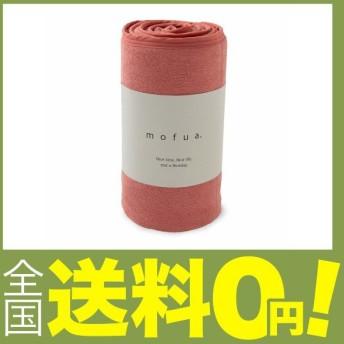 mofua cool(モフアクール) 夏用 タオルケット ピンク シングル 綿100% リバーシブル (表:タオル地/裏:ひんやり接触