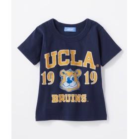 UCLA カレッジプリントTシャツ キッズ ネイビー