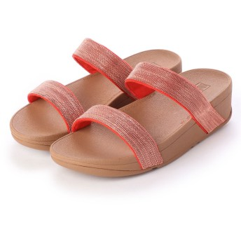 フィットフロップ fitflop LOTTIE SHIMMERMESH SLIDE (Passion Red)
