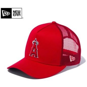 【メーカー取次】 NEW ERA ニューエラ 9FORTY D-Frame Trucker ロサンゼルス・エンゼルス スカーレット 12020351 メッシュキャップ メンズ 帽子 ブランド【Sx】