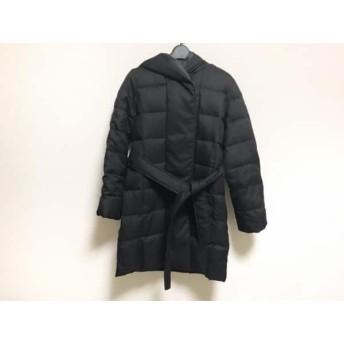【中古】 メイソングレイ MAYSON GREY ダウンコート サイズ2 M レディース 黒 冬物