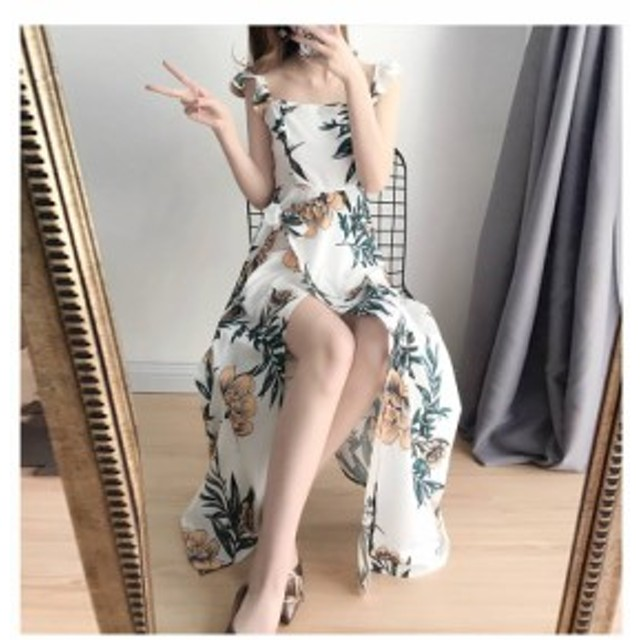 リゾートワンピース リゾートファッション ラフスタイル 夏ワンピース 沖縄リゾートワンピース ハワイ ビーチワンピース 大きいサイズ レ