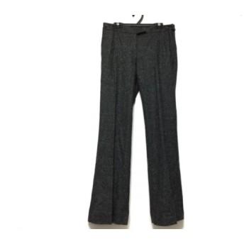 【中古】 セオリー theory パンツ サイズ0 XS レディース ダークグレー グレー