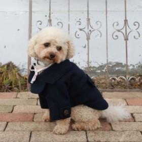Vague(ヴァーグ) ベーシックピーコート ネイビー 小型犬用 Sサイズ