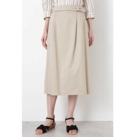 HUMAN WOMAN / ヒューマンウーマン ◆スラブサテンタンブラースカート