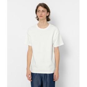 【51%OFF】 センスオブプレイス サカリバルーズTシャツ(5分袖) メンズ WHITE M 【SENSE OF PLACE】 【セール開催中】