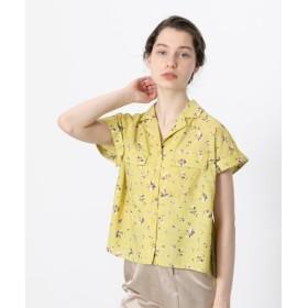 【51%OFF】 センスオブプレイス オープンカラーシャツ(半袖) レディース YELLOW FREE 【SENSE OF PLACE】 【セール開催中】
