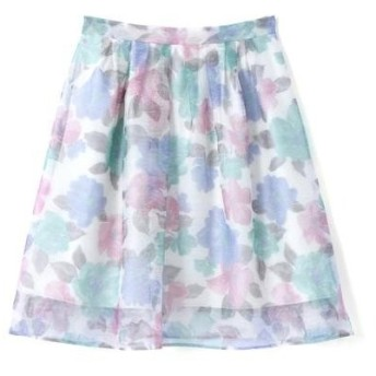 PROPORTION BODY DRESSING / プロポーションボディドレッシング フロートフラワープリントスカート