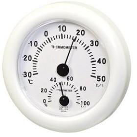 CRECER 湿温度計 70×12×4mm CR-103W 1個