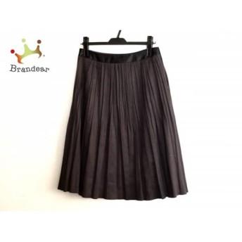 ボンサンス Bon Sens スカート サイズ37 レディース 黒 プリーツ スペシャル特価 20190803