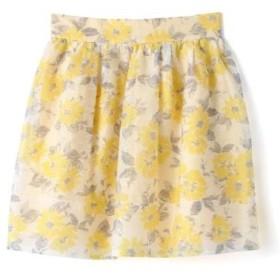 PROPORTION BODY DRESSING / プロポーションボディドレッシング  シアーフラワースカート