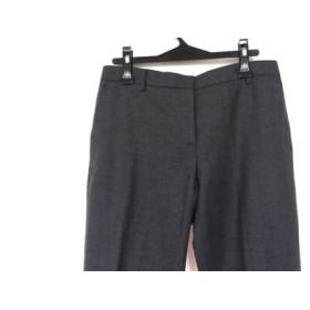 【中古】 ファビアーナフィリッピ FABIANA FILIPPI パンツ サイズ44 L レディース ダークグレー 黒