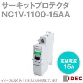IDEC(アイデック) サーキットプロテクタ NC1V形 フラットハンドル式 NC1V-1100-15AA