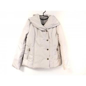 【中古】 クレイサス CLATHAS ダウンジャケット サイズ38 M レディース ライトグレー 冬物