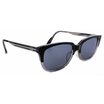 グッチ サングラス ブラック シルバー 黒 レディース 美品 TITAN チタン GG9084J メンズ Gマーク ブラックレンズ GUCCI 【中古】