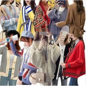 新追加 韓国ファッション 花林糖カーディガン ニット カーディガン パーカー コート ジャケット スウェット プリングコート アウター レディース 前開き トップス 秋冬ファッション