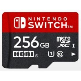 HORI ゲーム周辺機器 microSDカード for Nintendo Switch NSW-086 [256GB]