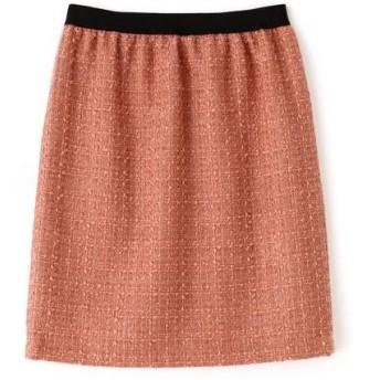 NATURAL BEAUTY BASIC / ナチュラルビューティーベーシック ラメツイードタイトスカート