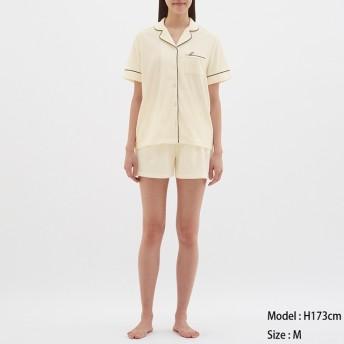 GU パイルパジャマ 半袖&ショートパンツ