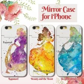 2fd7d794d0 iPhoneX iPhone8 Plus iPhone7 Plus SE iPhone6s Plus ミラー ICカード 付き ケース スマホケース  おしゃれ 童話