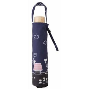 小川(Ogawa) 折りたたみ傘 晴雨兼用日傘 手開き 50cm 6本骨 ピーナッツ スヌーピー リバティパーク
