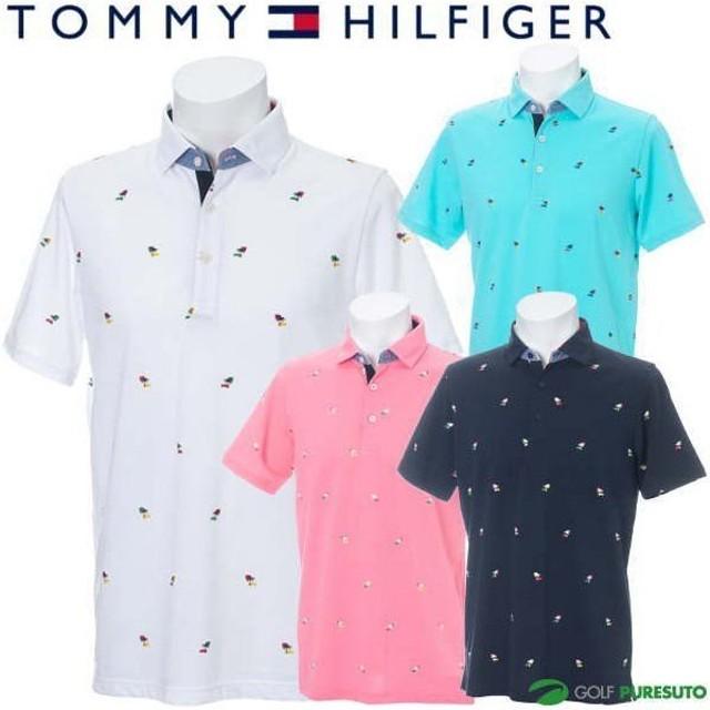 トミー ヒルフィガー ゴルフ 半袖ポロシャツ メンズ THMA942